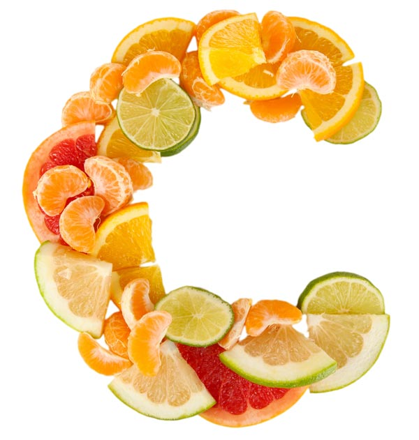 Citrus fruits in the shape of the letter C. Vitamin C is another nutrient and supplement that can help you overcome addiction and withdrawal.